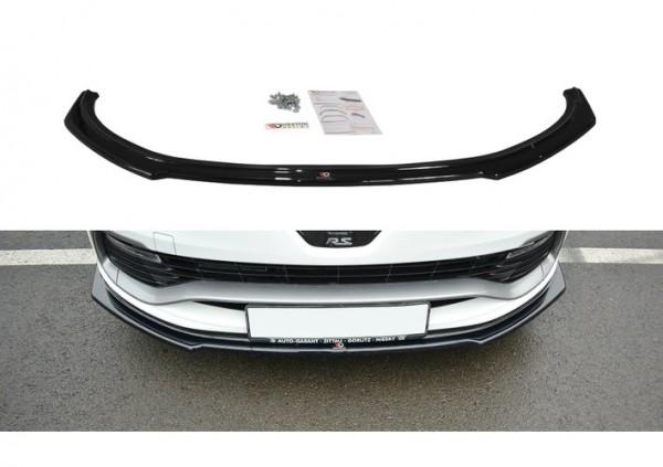 Cup Spoilerlippe Front Ansatz für RENAULT CLIO IV R.S.
