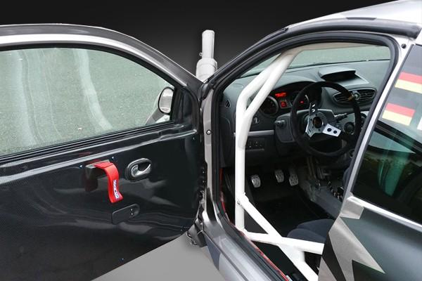 Türverkleidung Carbon Clio 3 RS