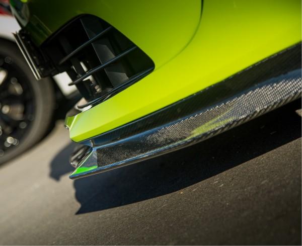 Frontsplitter Carbon mit seitlichen Flaps
