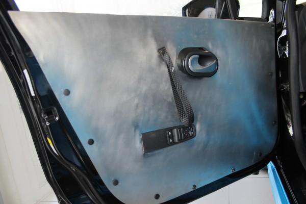 Türinnenverkleidung vorne Aluminium inkl. Griffschlaufe