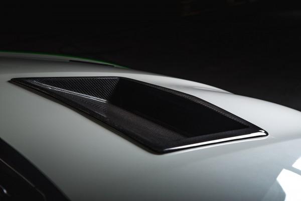 Luftauslass Motorhaube Carbon